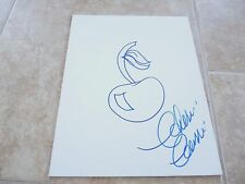 Cherie Currie Sexy Signed Autograph 11x14 Buzz Sketch PSA Guaranteed Cherry Bomb