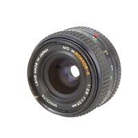 Minolta 35mm F/2.8 W Rokkor-X MD Mount Manual Focus Lens {55} - UG