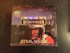 1994 TOPPS STAR WARS WIDEVISION FACTORY SEALED BOX - VERY RARE
