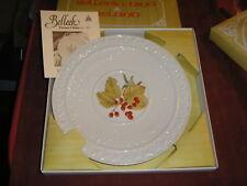 Belleek China Ireland 1986 Christmas Plate w/ Box
