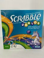 Scrabble Junior Crossword Game 2008 Hasbro VG Ages 5 and Up