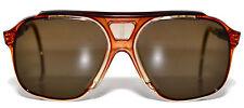 Vintage BJORN BORG Masters Pro Tennis Aviator Bolle Sunglasses Brown NOS Mint