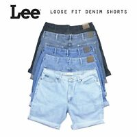 Mens Vintage Lee Loose Fit Denim Shorts Various