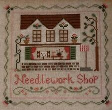 """Country Cottage Needleworks - """"The Needlework Shop""""  Chart No. 26.  (2008)"""