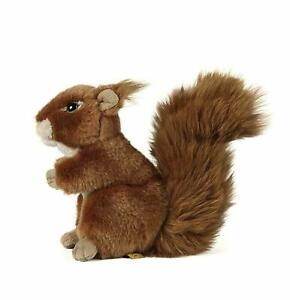 Living Nature Soft Toy Large Squirrel 20cm Soft Toy