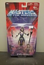 MATTEL MASTERS OF THE UNIVERSE EVIL LYN ACTION FIGURE HE-MAN EVIL WARRIORS NIB