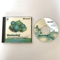 Mastering Microsoft Visual Basic 5 For Windows 95 CD-Rom With CD Key