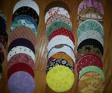 "Lot of 100pcs quilt,  3"" circle cotton fabric charm pack, yoyo -grab bag"