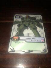 Gundam MS WAR TCG MS-051 Leo 2000 BANDAI TCG Beam Saber