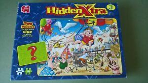 1000 Piece Jigsaw, Jumbo Hidden Xtra 3 Jigsaw Puzzle, Bay Watch Out. Complete