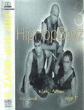 Hip Hop Boyz 3 CASSETTE ALBUM Pop Rap Euro House Reggae Hungarian pop/hip-hop