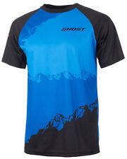 GHOST All Mountain Jersey Short black/blue MTB Radtrikot 2017 - XXL