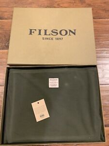 Filson Rugged Suede Leather Pouch - Large - New!