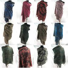 wholesale 10pc  pashmina scarf paisley floral classic viscose Wraps and Shawls