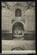 1107.-GRANADA -38 Alhambra -Interior de la Sala de las dos Hermanas