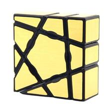 YongJun Super Smooth Gold Ghost Magic Cube 1x3x3 Speed Cube Twist Puzzle Toy