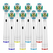 8pcs Electric Toothbrush Nozzles Oral B 3D White Toothbrush Heads Braun