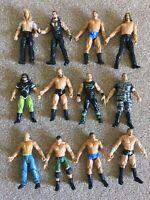 12x WWE WRESTLING ACTION FIGURE TOY BUNDLE JOBLOT JAKKS PACIFIC TTL WWF WCW ECW