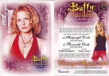 Buffy  The Women Of Sunnydale PROMO CARD WOS P-UK