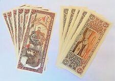 Lot of 11 Brazil 1961/62 Banknote Bill 5 Cruzeiros P-166a Uncirculated