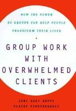 GROUP WORK WITH OVERWHELMED CLIENTS : HOW THE POWER OF GROUPS CAN HELP PEOPLE