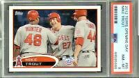 "MIKE TROUT ANGELS ROOKIE 2012 TOPPS ""Opening Day"" PSA 8 RARE GOAT ♨️  (NJC)"