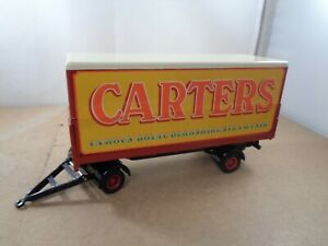 Corgi Fairground CARTERS Drawbar Covered Trailer Only In 1:50 Scale.Diecast