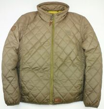 CAMEL ACTIVE MEN'S QUILTED PUFFA JACKET WITH DETACHABLE HOOD EU52 UK42-43 LARGE