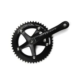 Miche Primato Advanced Track Bicycle Cycle Bike Chainsets Black