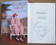Slowing Down By George Melly Signed First Edition