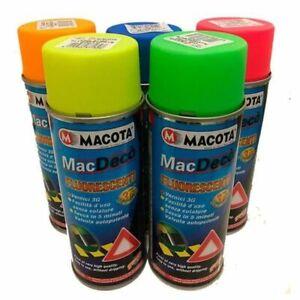 MACOTA Tuning Vernice Spray Fluorescente Smalto Acrilico evidenziatore NON COLA