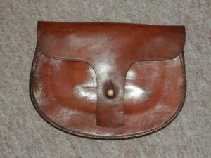 Victorian Military Webley Leather Pistol Ammunition Pouch 'Bryan -Co C&M 1866'
