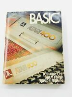 Vintage 1979 Atari Basic A Self Teaching Home Computer Softcover Book