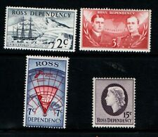 New Zealand Ross Dependency 1967 decimal set SG5-8 Mint MH