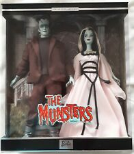 The  Munsters  Barbie Collectibles  Gift Set  Mattel  2001  MIB/NRFB