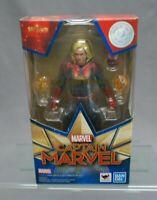 SH S.H. Figuarts Captain Marvel (captain marvel) BANDAI SPIRITS NEW