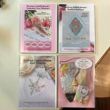 Hope Yoder Heirloom Embellishments CDs Lot of Four (4) Vols 1, 2 & 3 and Charm