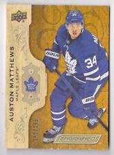 18-19 Upper Deck Engrained Auston Matthews /299 Toronto Maple Leafs 2018