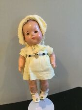 Doll Dionne Quint Emelie Composition All Original with Name Pin 1930s.