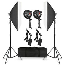 "Photography Softbox Lighting Kit, 20"" x 27"" Photo Equipment Studio Softbox"