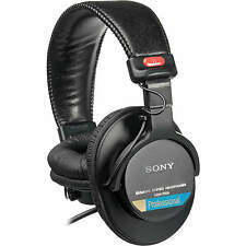 Sony MDR7506 Professional Stereo Folding Closed Ear Headphones with Coiled Cable