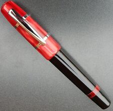 New Old Stock Black & Red Monteverde USA small fountain pen.