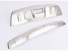 Front Rear Bumper Protector Skid Plate For 2014-2016 Nissan Rogue X-Trail T32