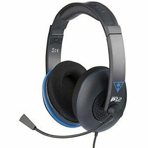 Turtle Beach Ear Force P12 Gaming Headset, Black