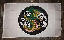 3x5 Chinese China Dragon Circle Yin Yang Flag 3'x5' Banner Brass Grommets