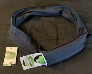 FlipBelt Original Running Belt and Water Bottle Carbon Size XXL New w/ Tags