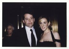 Matthew Broderick & Sarah Jessica Parker - Vintage Candid Photo by Peter Warrack