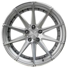 20x9 Verde Insignia 5x115 +15 Silver Rims Fits Chrysler Dodge Charger Magnum