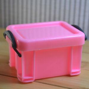 Plastic Small Storage Box Container Organizer Home Office Desk Jewellery Case