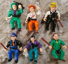 Vintage 1990 Dick Tracy Lot 6 Action Figures Accessories Playmates